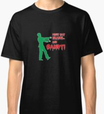 Zombies Love Brains and Candy! Classic T-Shirt