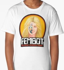FEMBOT / DOLL TRIBUTE Long T-Shirt