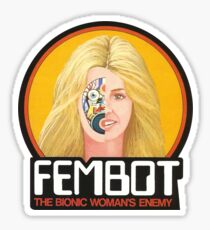 FEMBOT / DOLL TRIBUTE Sticker
