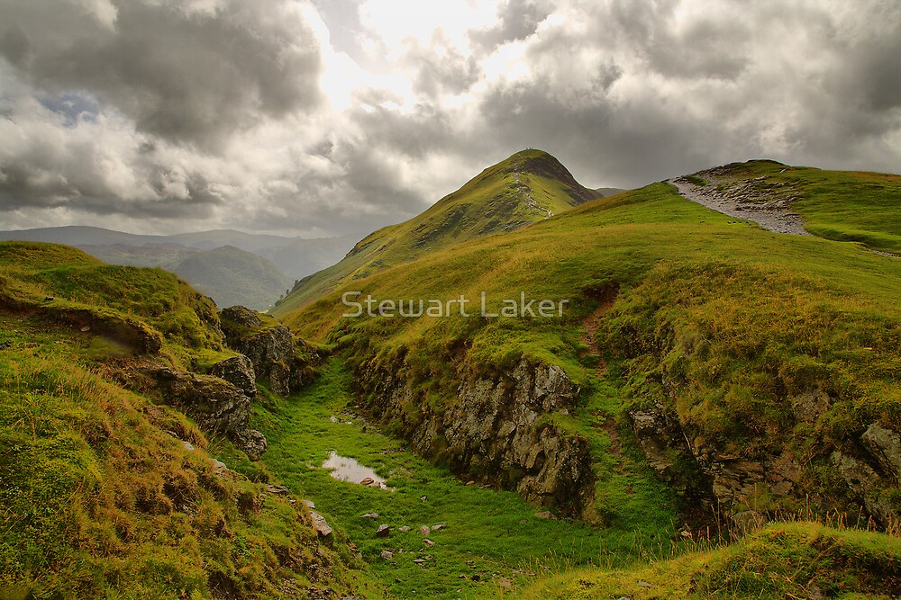 Ascent of Cat Bells by Stewart Laker