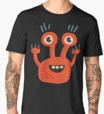 Funny Orange Creature Men's Premium T-Shirt