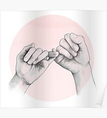 pinky swear // hand study Poster