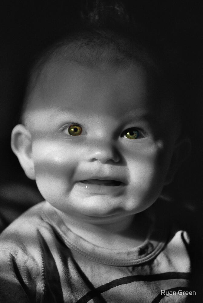 baby bright by Ryan Green