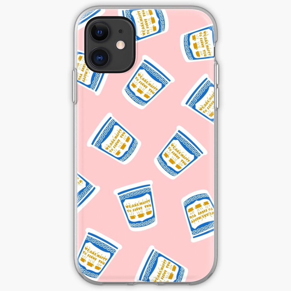 New York Deli Coffee Pattern iPhone Case & Cover
