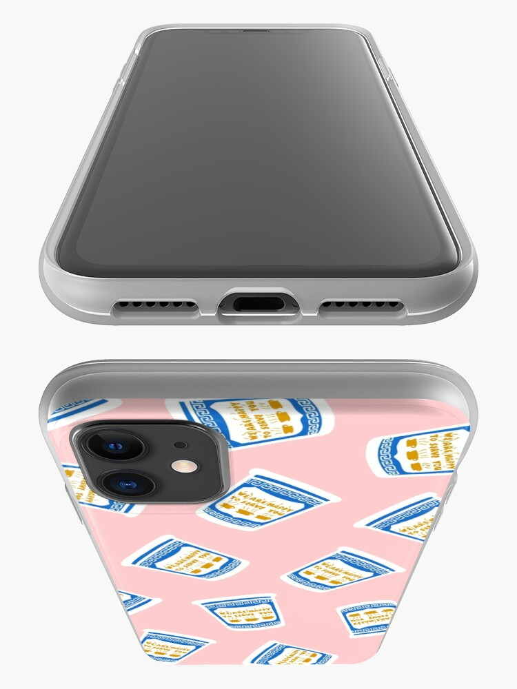Alternate view of New York Deli Coffee Pattern iPhone Case & Cover