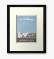 Der Himmel uber Berlin  Wings of Desire Framed Print