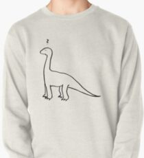 The Quizzical Dinosaur Pullover Sweatshirt
