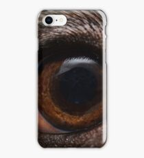 I am watching you - and you do have food for me! iPhone Case/Skin