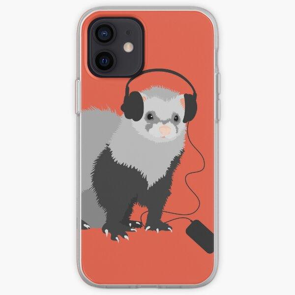 Funny Musical Ferret iPhone Soft Case