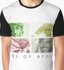 SONS OF AFRICA Graphic T-Shirt