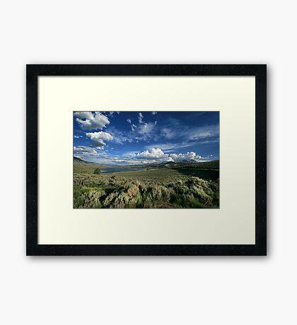 Colorado Land Framed Print