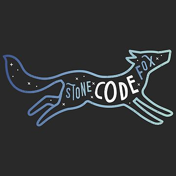 Stone Code Fox - Programming by blushingcrow