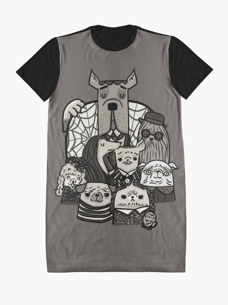 Alternate view of The Addams Family Graphic T-Shirt Dress
