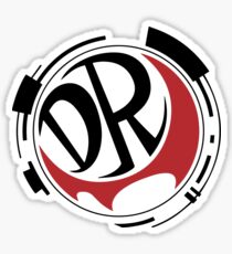 Danganronpa! DR (Black) Sticker
