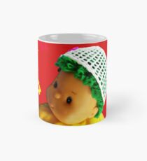 Baby doll with butterflies Mug