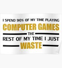 Computer Gaming Poster