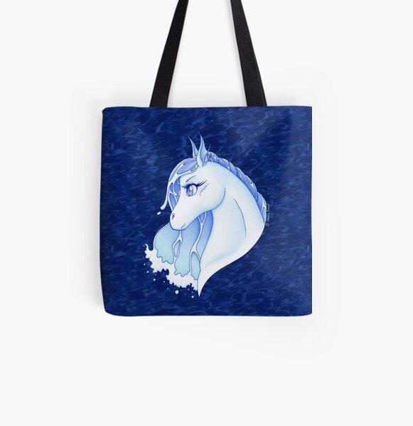 Nadi hippocamp - spirit of water All Over Print Tote Bag