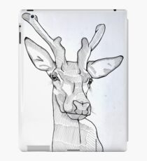 Fine Liner Deer iPad Case/Skin