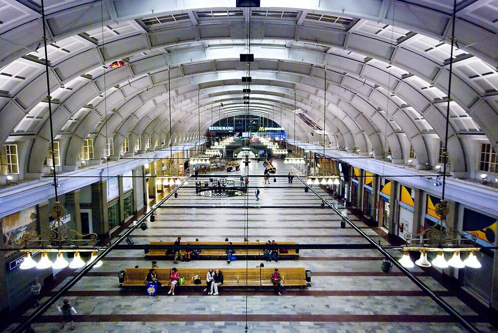 Stockholm Central Station by Guillaume Lemoine