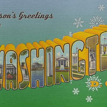 Seasons Greetings from Washington D.C. by reapolo