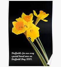 """""""Daffodils"""" Poster"""