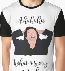 What a Story Mark - The Room Graphic T-Shirt