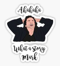 What a Story Mark - The Room Sticker