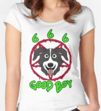 GOOD BOY. Women's Fitted Scoop T-Shirt
