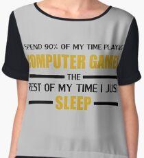Computer Games Chiffon Top