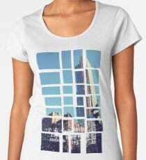 Buildings Blocks Women's Premium T-Shirt