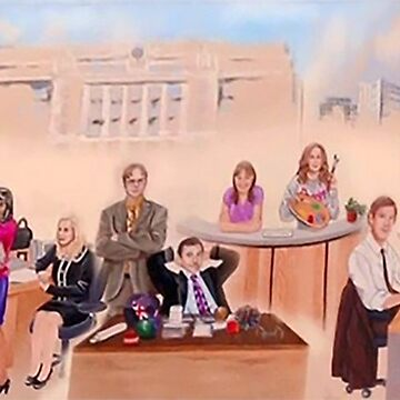 The Office Cast Mural by whermansehr