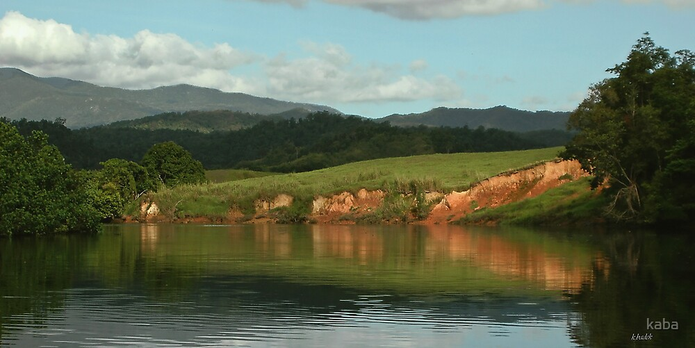 Daintree river by kaba