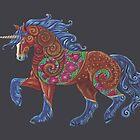 Poppy Unicorn Totem by Jezhawk