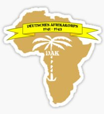 Afrikakorps Sticker