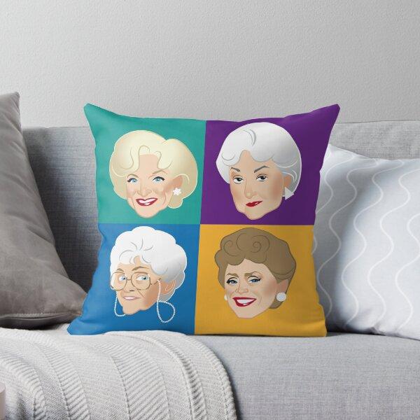 Pals & Confidants Throw Pillow