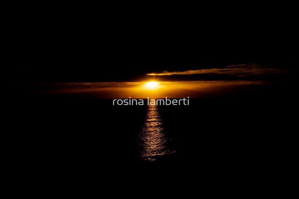 Last light by Rosina  Lamberti