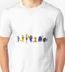 Characters Inspired Silhouette Unisex T-Shirt