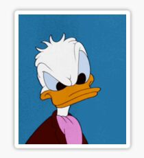 SASSY Donald Duck Sticker