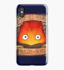 Studio Ghilbi Illustration: CALCIFER #3 iPhone Case