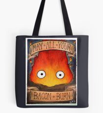 Howl's Moving Castle Illustration - CALCIFER (original)  Tote Bag