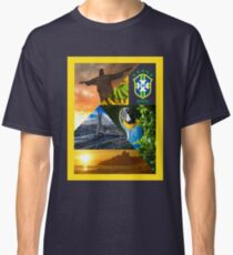 Brazil exclusive for Russia World Cup 2018 Classic T-Shirt