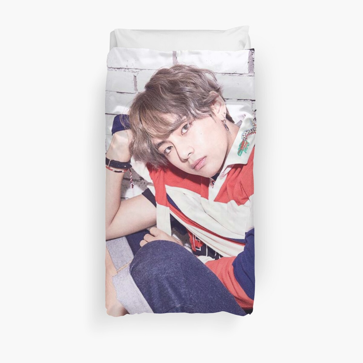 Quot Bts V Love Yourself 01 Quot Duvet Covers By Nurfzr Redbubble