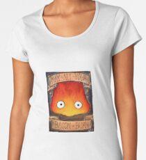 Studio Ghibli Illustration: CALCIFER #2 Women's Premium T-Shirt