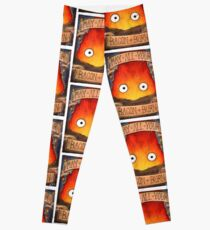 Studio Ghibli Illustration: CALCIFER #2 Leggings