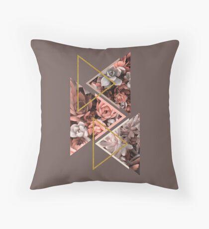 Elegant Succulents #redbubble #decor #buyart Throw Pillow