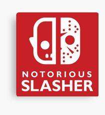 Notorious Slasher Canvas Print