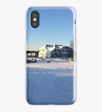 snowstorm aftermath iPhone Case/Skin
