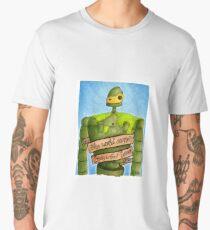 Laputa: Castle In The Sky Illustration - ROBOT Men's Premium T-Shirt