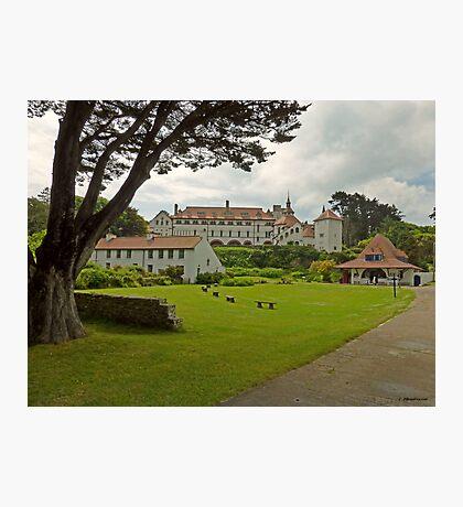 The Monastery at Caldey Island, Pembrokeshire Photographic Print