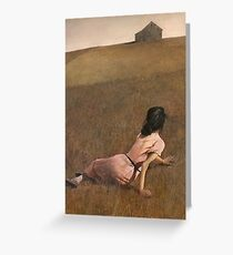 Christina's World by Andrew Wyeth Greeting Card